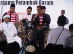 Sandiaga: Jika Terpilih, Menteri Kami Tak akan Sia-siakan Petambak Garam