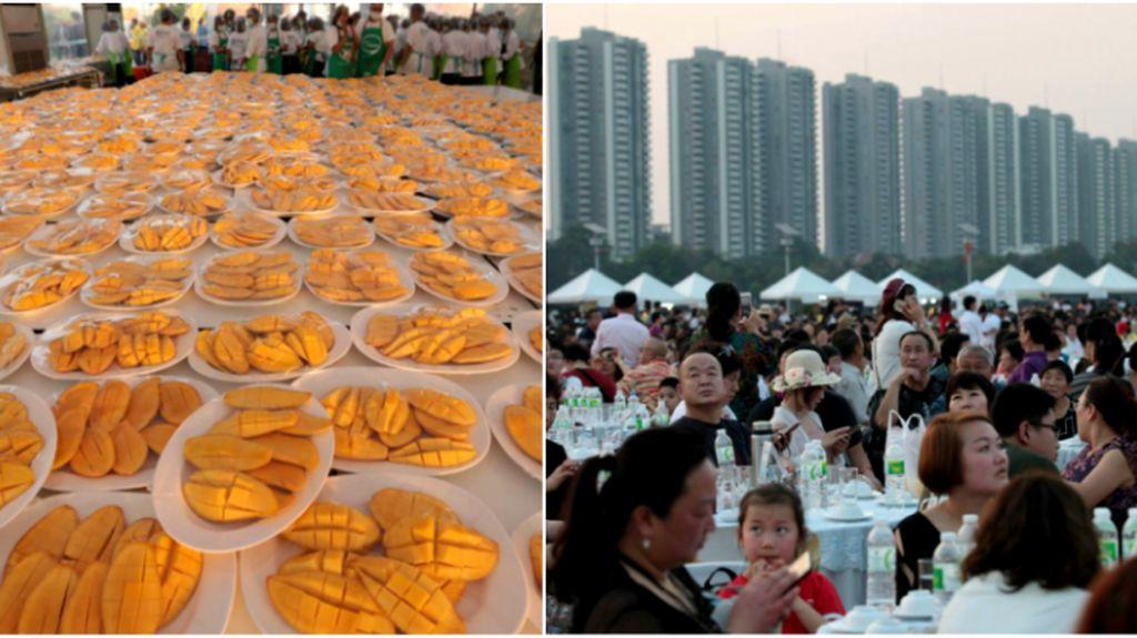 Politisi Thailand Jamu Wisatawan China dengan 5 Ton Mango Sticky Rice