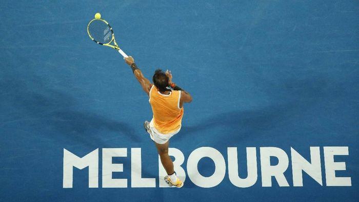 Rafael Nadal melangkah ke semifinal Australia Terbuka 2019. Foto: Edgar Su / Reuters
