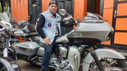 Anak Raja Dangdut Hobi Moge, Joki Cewek Balap Liar Kecelakaan