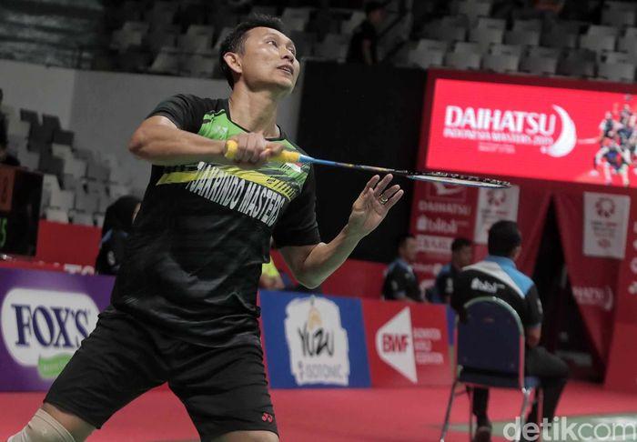 Sony Dwi Kuncoro berhasil memetik hasil positif ketika menjalani kualifikasi pertama ajang Indonesia Masters 2019.