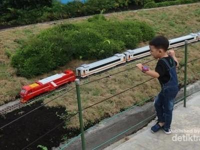 Di Lembang Bandung Ada Destinasi Taman Miniatur Kereta Api, Tahu?