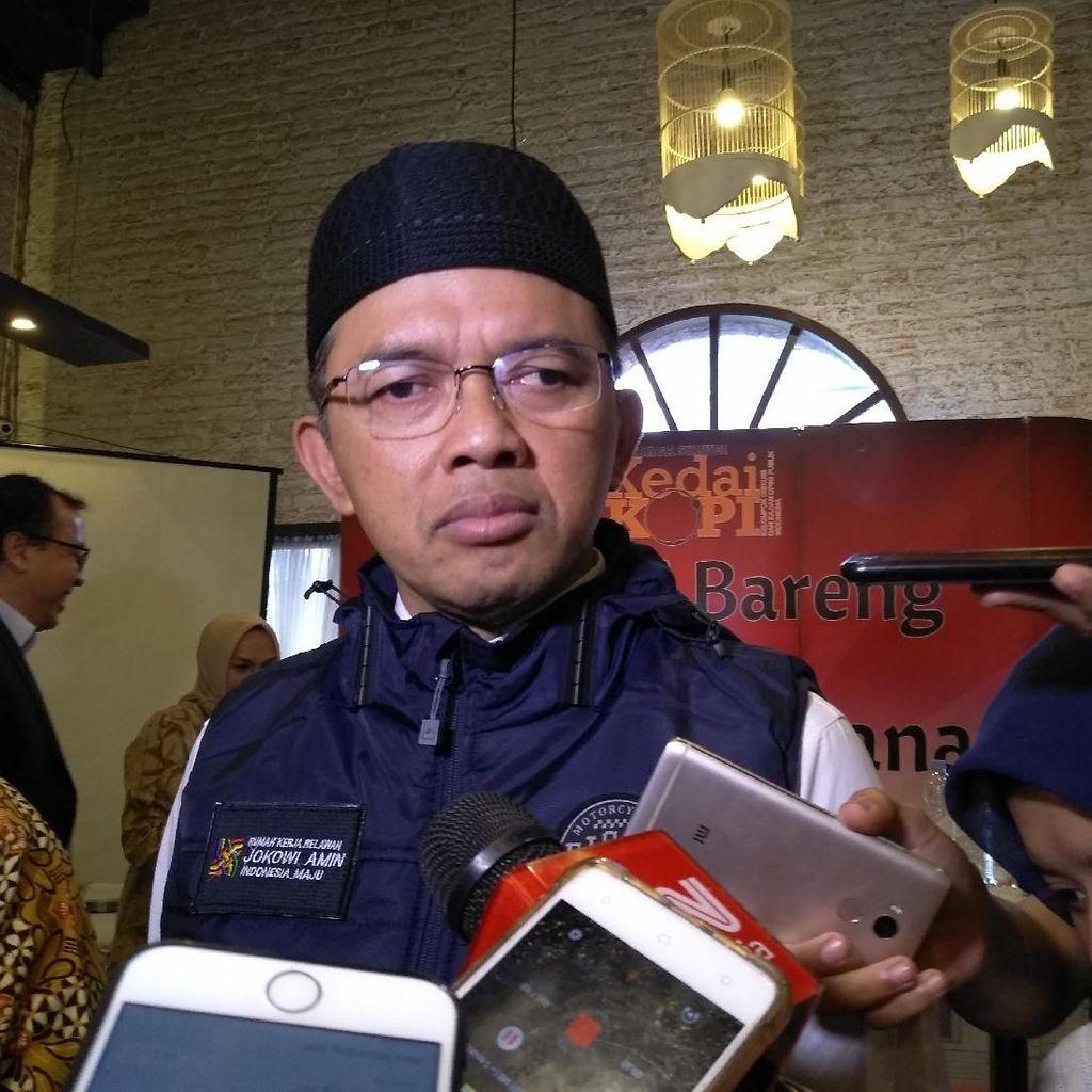 Dilaporkan Soal Penyumbang Dana Kampanye, TKN Jokowi: Kami Transparan