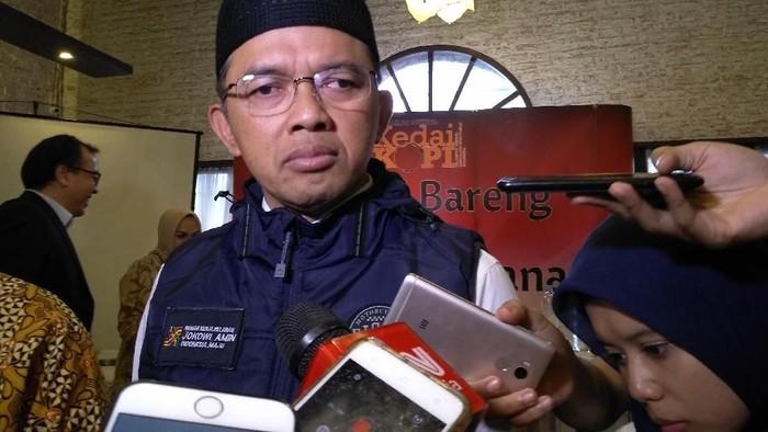 Direktur Relawan TKN Jokowi Maruf Amin, Maman Imanulhaq (Nur Azizah Rizki/detikcom)
