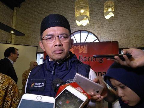 Direktur Relawan TKN Jokowi Maruf Amin, Maman Imanulhaq