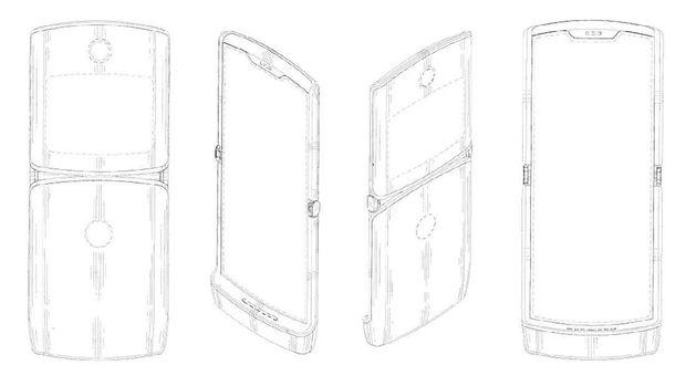 Bocoran Fitur Ponsel Layar Lipat Motorola Razr