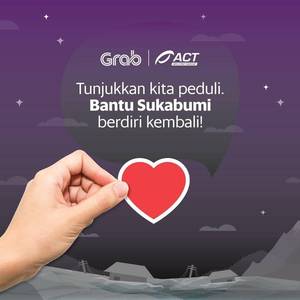 Setelah Selat Sunda, Grab Kumpulkan Donasi untuk Longsor Sukabumi