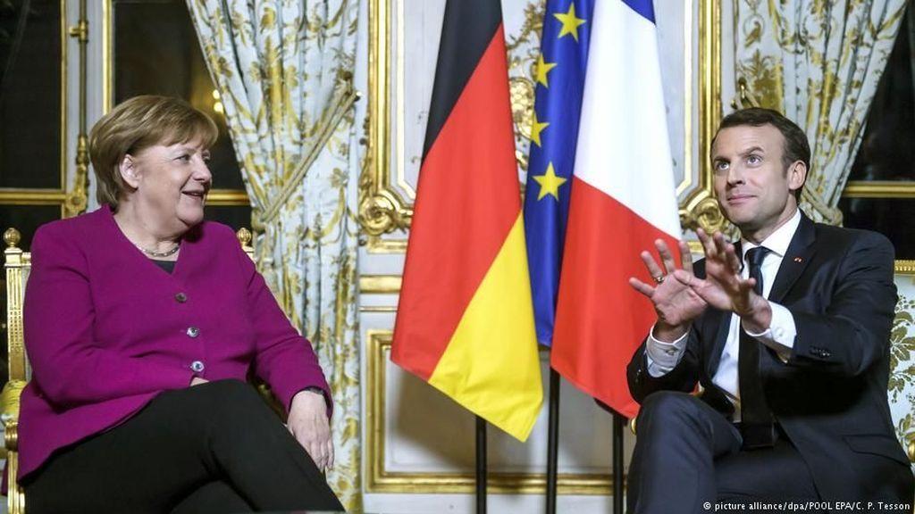Jerman dan Prancis Perbarui Perjanjian Persahabatan di Aachen