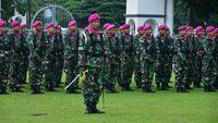 TNI Netral di Pemilu, Prajurit Marinir Diingatkan Tak Pose Jari Khas Paslon