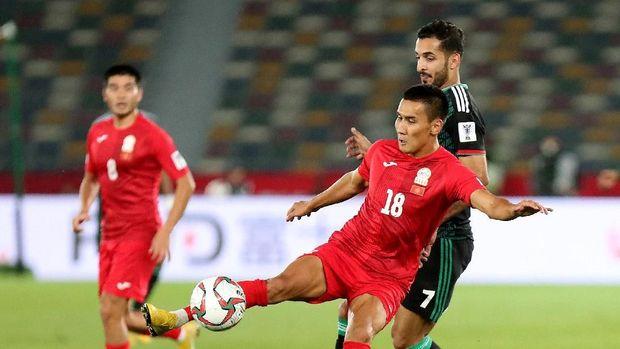 Kirgistan tersingkir di babak 16 besar Piala Asia 2019. (