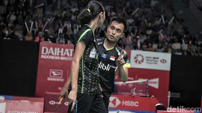 Hafiz Faizal/Gloria Emanuelle Widjaja menjadi andalan ganda campuran ke Olimpiade 2020.  (Pradita Utama/detikSport)