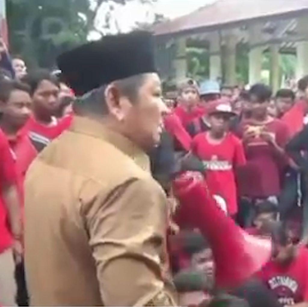 Bupati Sidoarjo Ngamuk Saat Delta Mania Tagih Janji