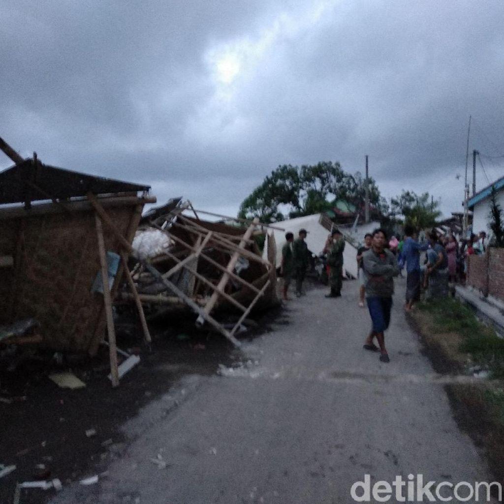 Puting Beliung di Probolinggo, 30 Bangunan Rusak