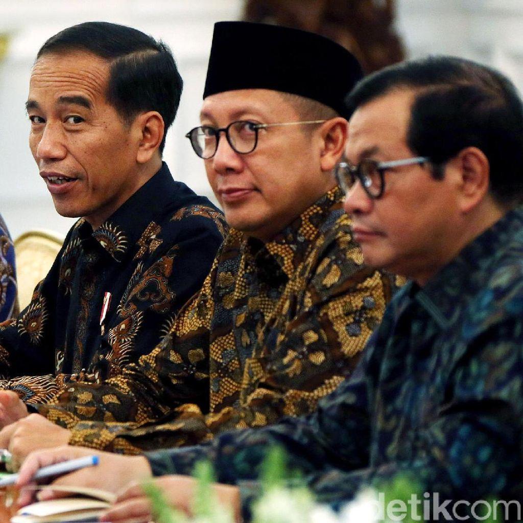 Jokowi Terima Ormas LPOI di Istana