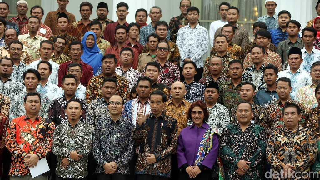 Ditanya Jokowi soal Izin Kapal, Nelayan: Lama