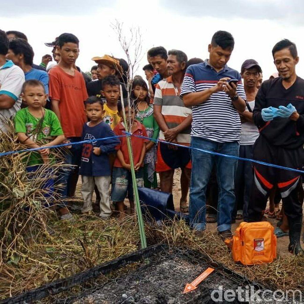 Keluarga Mayat Perempuan yang Dibakar di Sumsel Datangi RS