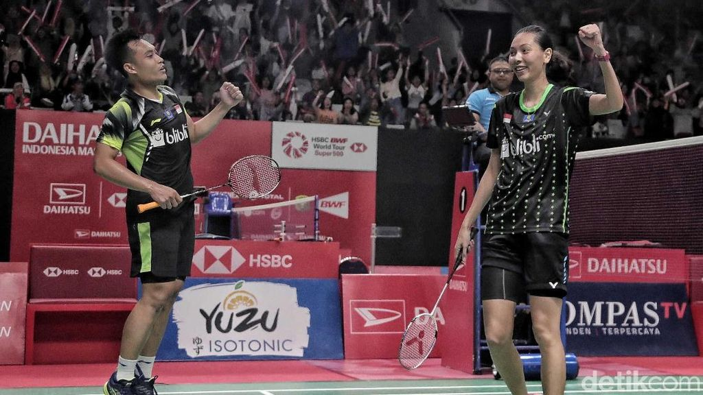 Hafiz/Gloria dan Vito Lolos Perempatfinal Thailand Masters 2020