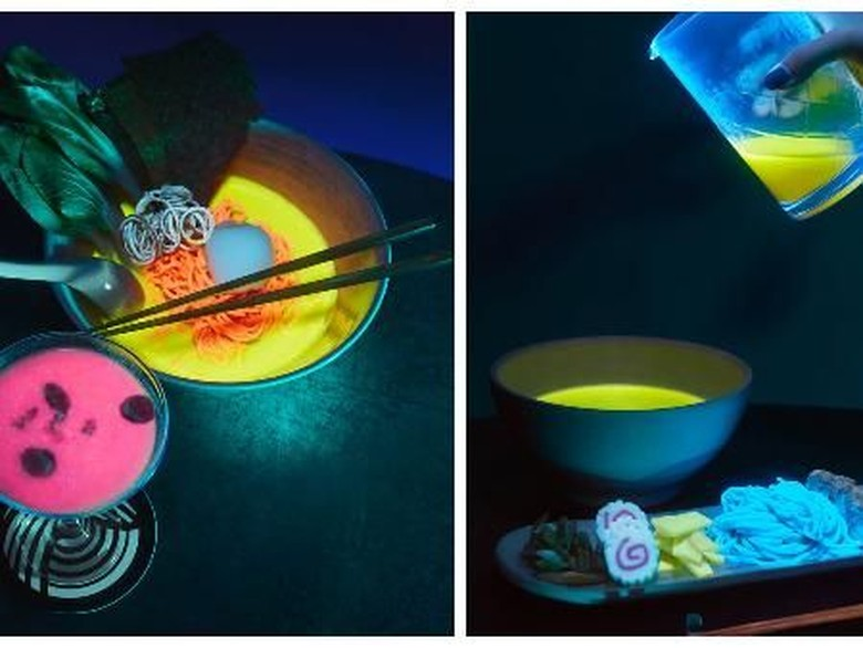 Keren! Resto Ramen Glow-In-The-Dark Ini Jadi yang Pertama di Dunia