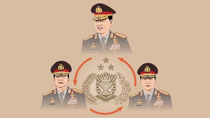 Tiga spesialis antiteror di Lingkar Tito