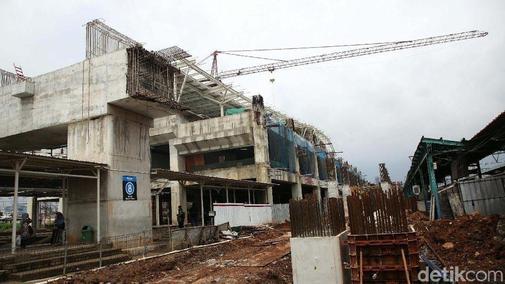 Mulai Berwujud, Begini Progres Revitalisasi Stasiun Manggarai