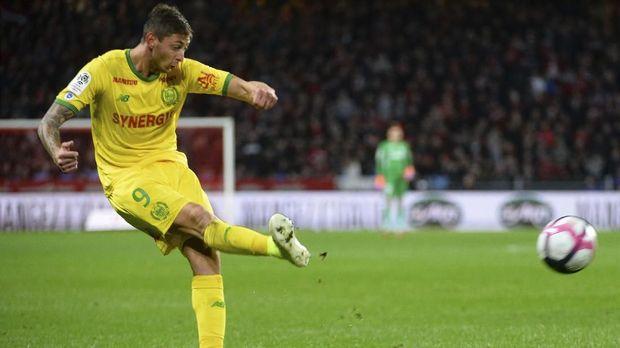 Emiliano Sala jadi legenda Nantes.