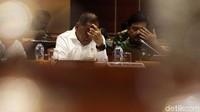 Selain itu rapat juga membahas soal pembebasan Abu Bakar Baasyir.