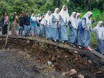 Jalan Amblas, Lalin Pekalongan-Banjarnegara Terputus