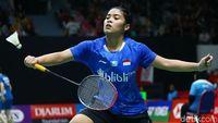 Tunggal Putri Habis, Anthony Melaju ke Perempatfinal Indonesia Masters