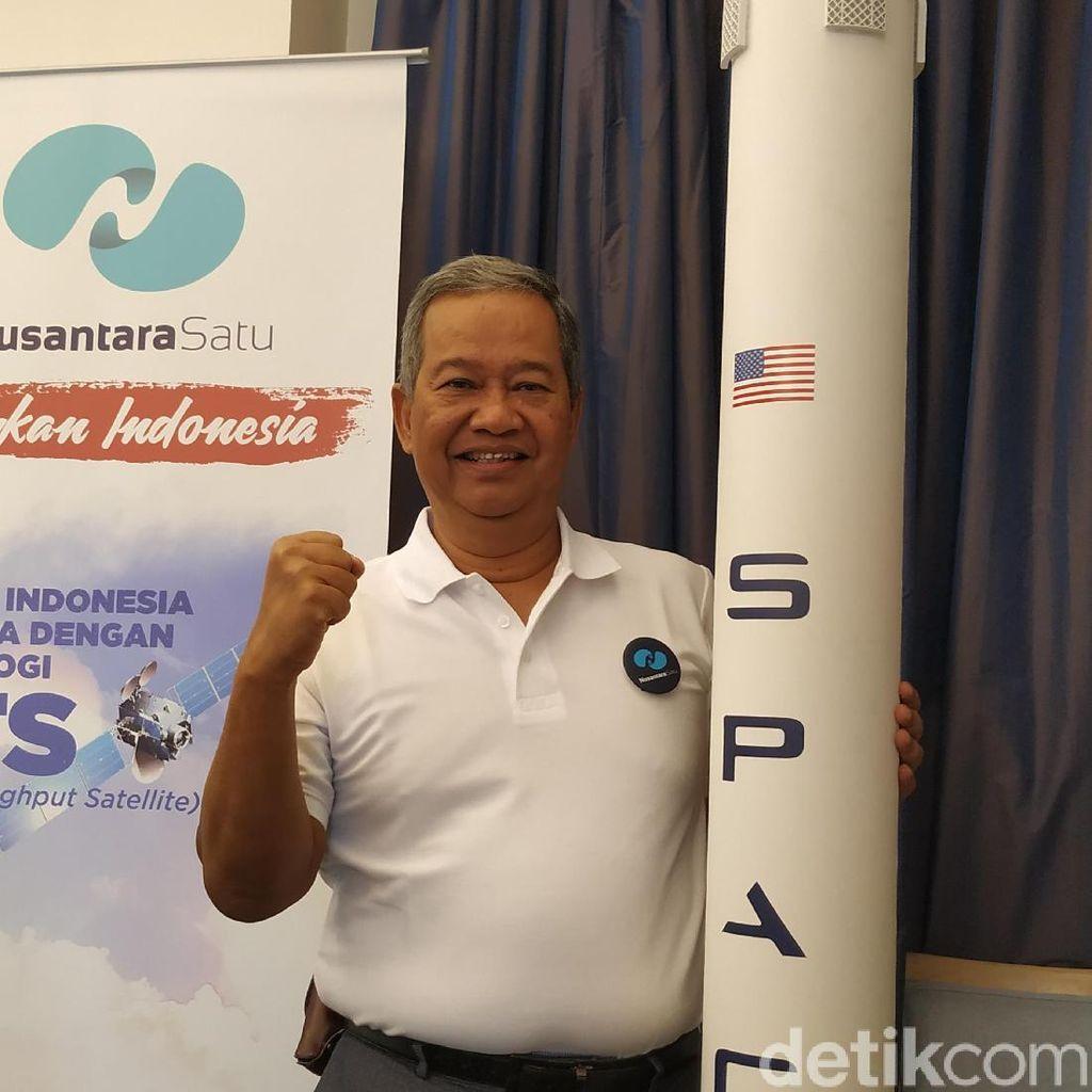 Satelit Broadband Pertama Indonesia Nusantara Satu Siap Meluncur