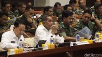 Rapat kerja tersebut membahas Rencana Kerja dan Anggaran RAPBN.
