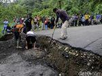 Ambles Sedalam 1 Meter, Jalur Utama Pekalongan-Banjarnegara Putus