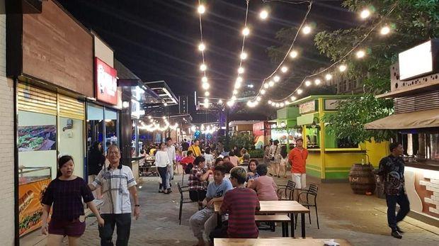 Video aktivitas restoran di Pulau D reklamasi teluk Jakarta sudah beroperasi