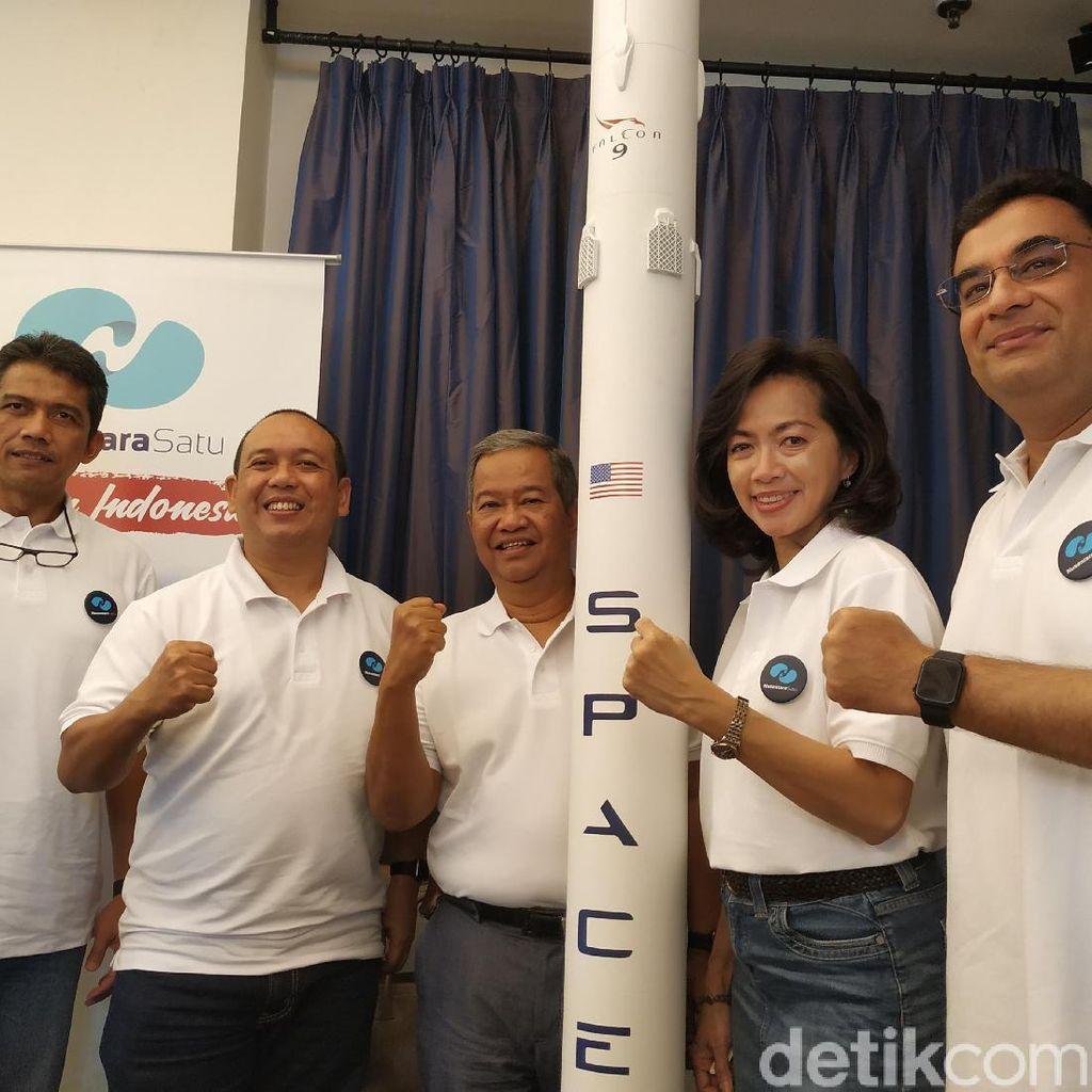 Satelit Broadband Pertama Indonesia Sukses Mengangkasa