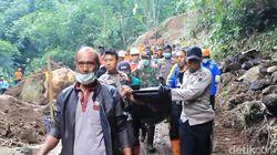 Tim SAR Akhirnya Temukan Korban Longsor di Wonosobo