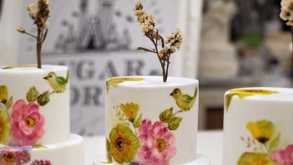 Seperti Karya Seni, Cake Lukis Buatan Baker Indonesia Ini Tampil Memukau