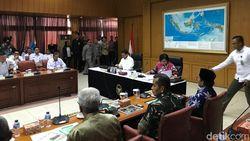 Rakor Karhutla, Wiranto: Malaysia-Singapura Tak Protes Lagi soal Asap