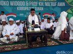 Maruf Amin Hadiri Deklarasi Tim Pendarat di Tuban