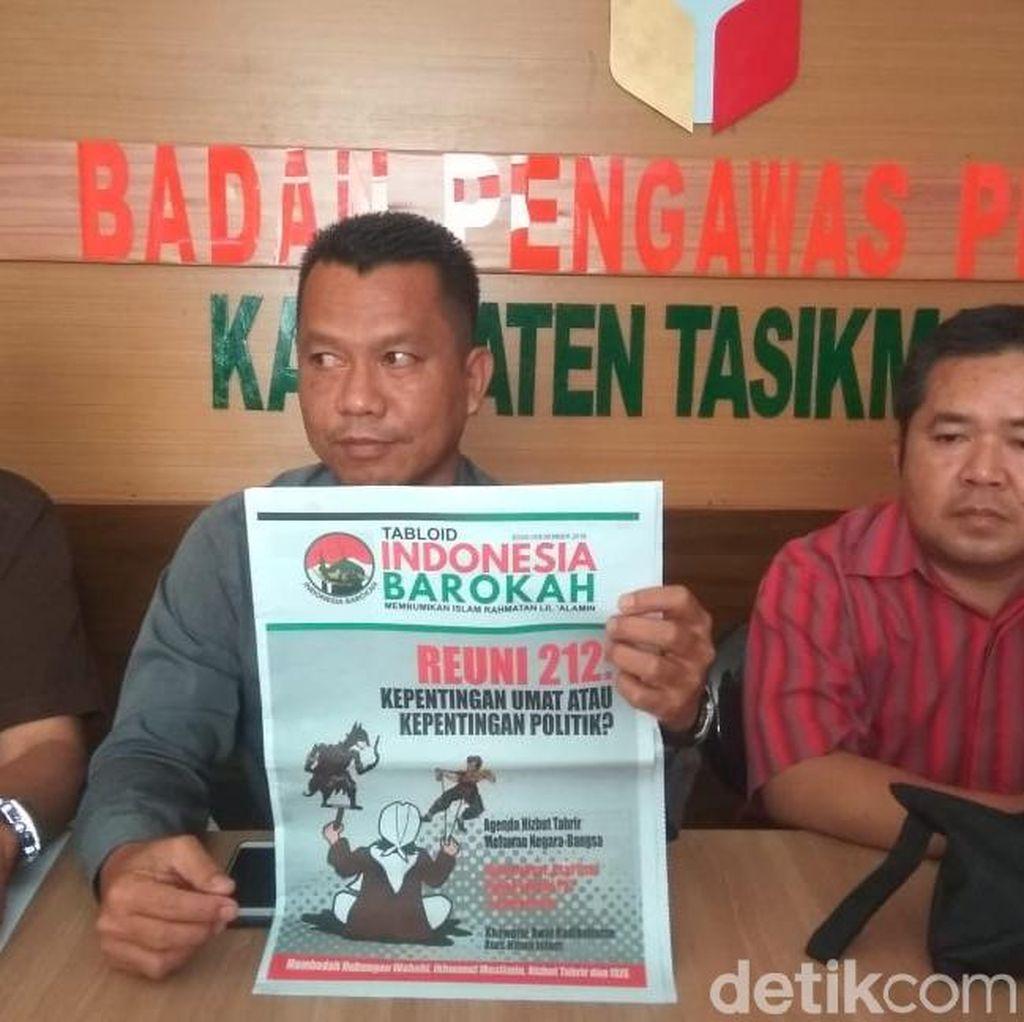 Ribuan Tabloid Indonesia Barokah Beredar di Masjid Tasik dan Ciamis