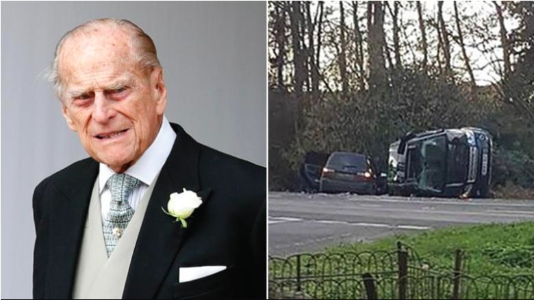 Pangeran Philip kecelakaan. Foto: Pool(CNN)