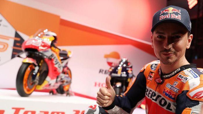 Jorge Lorenzo mengaku baru akan kompetitif di seri ketiga di Austin. Foto: Susana Vera/Reuters