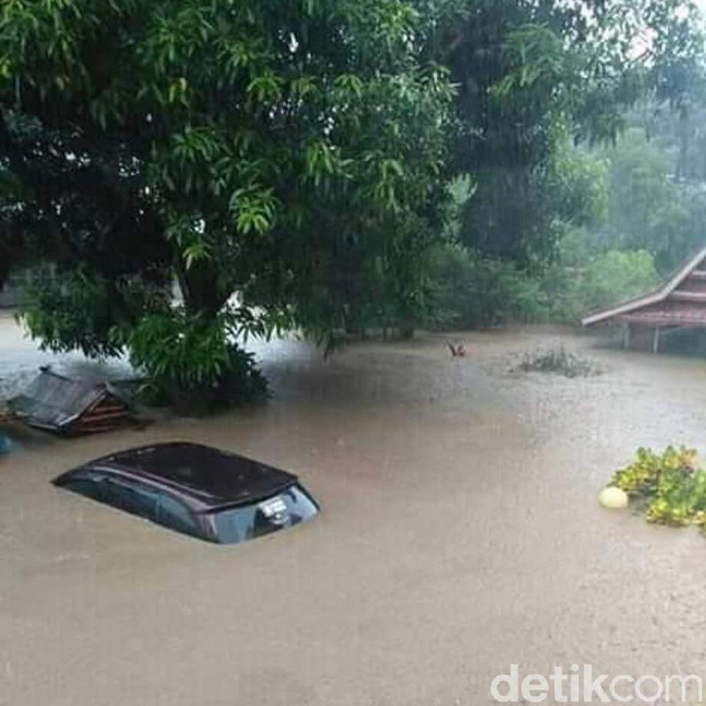 Kepala BNPB Lapor ke Jokowi soal Banjir Besar di Sulsel