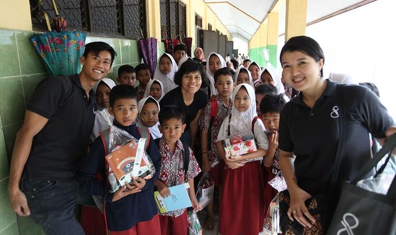 Perusahaan Properti Bantu Percantik Sekolah yang Terdampak Tsunami