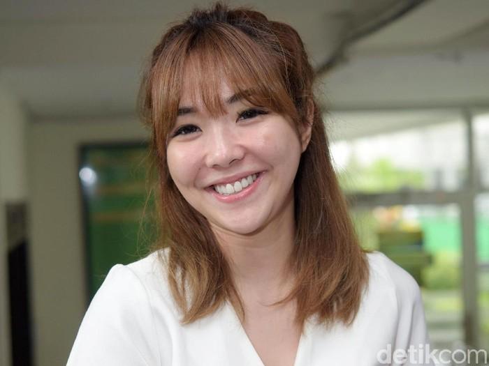 Gisel saat ditemui di Pengadilan Negeri Jakarta Selatan.