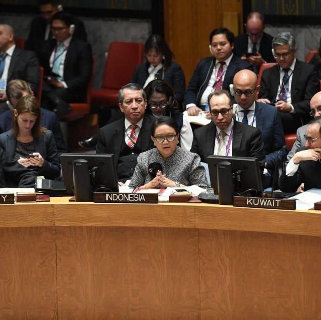Di Forum DK PBB, RI Dorong Proses Perdamaian Palestina-Israel