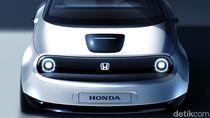 Sketsa Baru Mobil Listrik Honda
