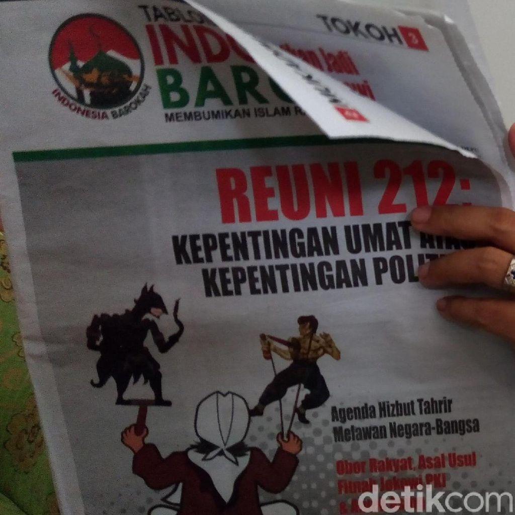 Seratusan Amplop Tabloid Indonesia Barokah Disebar di Indramayu
