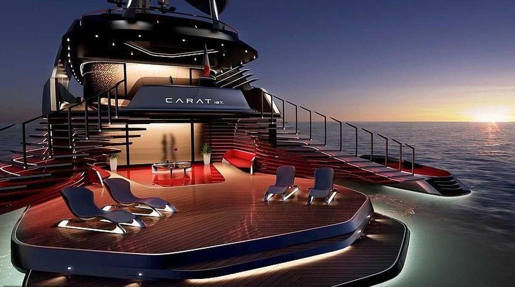 Penampakan Kapal Yacht Super Mewah Seharga Rp 1,8 Triliun