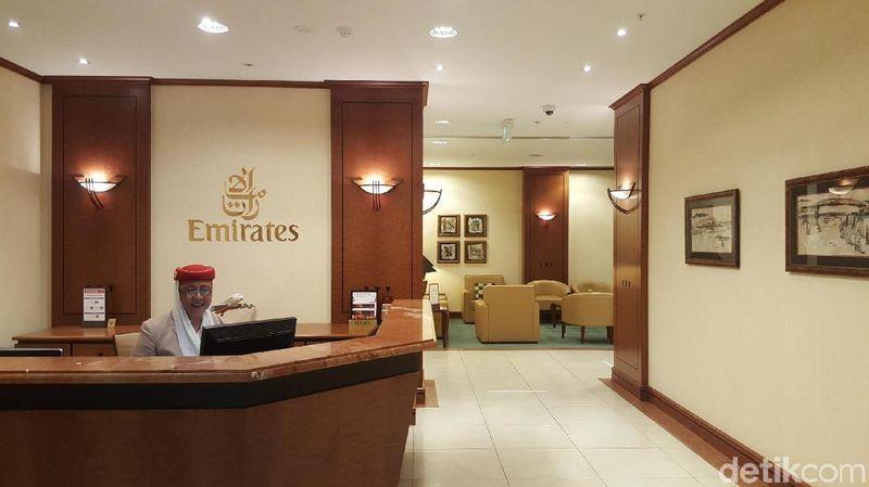 Dari Auckland, Selandia Baru traveler bisa terbang langsung ke Bali di Indonesia dengan maskapai Emirates. Maskapai Timur Tengah ini memiliki lounge yang sangat nyaman untuk penumpang kelas bisnis dan first class (Fitraya/detikTravel)
