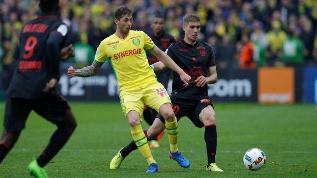 Emiliano Sala direkrut Cardiff City dari Nantes pada bursa transfer Januari.