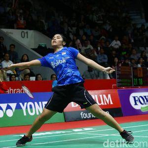 Sakit Pinggang, Gregoria Batal Jumpa Pers Indonesia Masters 2019